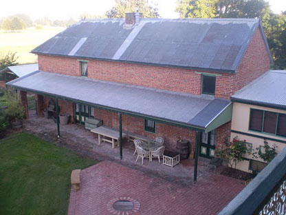Woolston Stable view from overhead modern