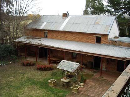Woolston stables - overhead view 2003